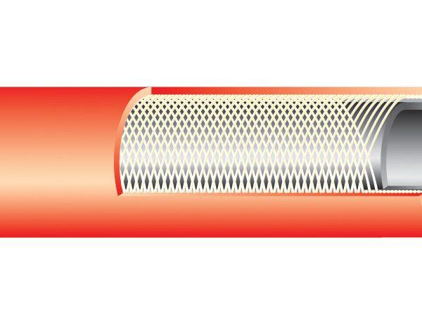 M-FLEX Hegesztő tömlő Acetilén (piros) 20 bar / 8