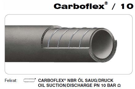 CARBOFLEX/10 Olaj- és üzemanyagálló szívó-nyomó tartálykocsitömlő DN51 mm