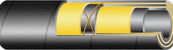 Sandblast KUM+ 12 bar / DN12kopásálló tömlő homokfúvó
