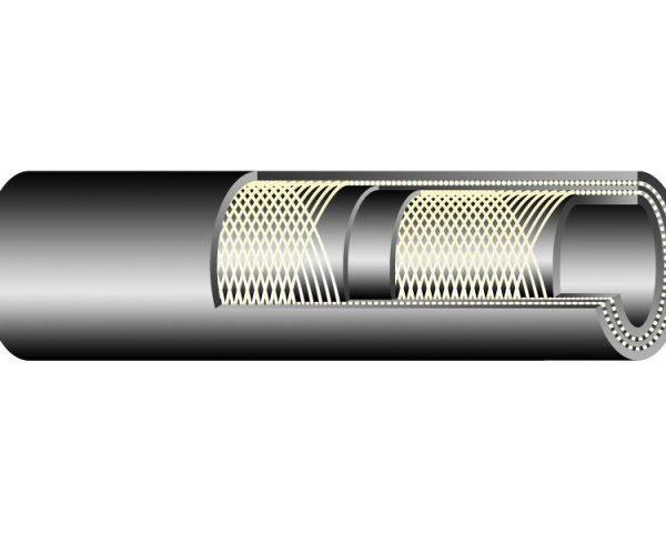 EGE-10 / 10 bar / DN76 gumibázisú víztömlő ipari és építőipari