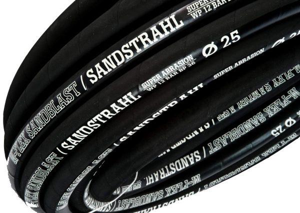 M-FLEX Sandblast 12 bar / DN19kopásálló tömlő homokfújó