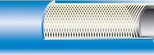M-FLEX Hegesztő tömlő Oxigén (kék) 20 bar / 6