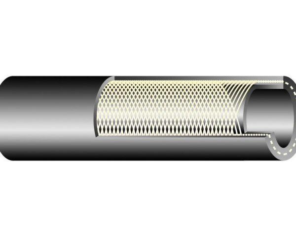 TEXTOIL 20 bar / DN25 gumibázisú olaj és üzemanyagálló tömlő textilfonat erősítéssel