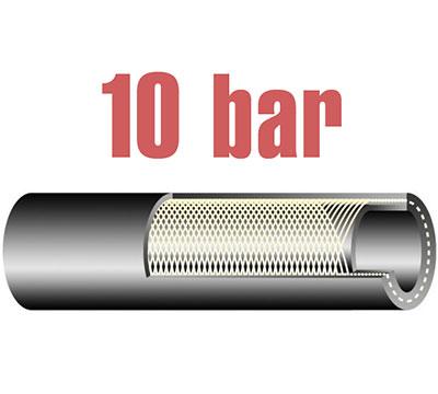 10 bar-os olaj és üzemanyagálló tömlő