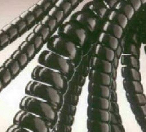 Műanyag tömlővédő spirál