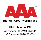 Hidraulika AAA Tanúsítvány